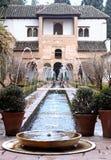 ЮНЕСКО: Generalife, Альгамбра - Гранада, Испания Стоковое Фото