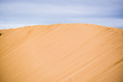 дюны зашкурят белизну Стоковые Изображения RF