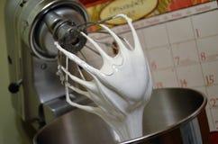 Юркните с сметанообразный ый-бел замораживать зефира стоковое фото rf