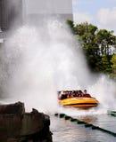Юрская езда воды парка Стоковая Фотография