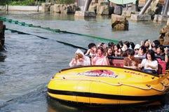 Юрская езда воды парка Стоковое Изображение