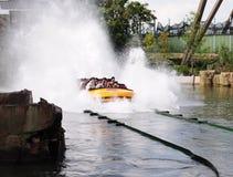 Юрская езда воды парка Стоковое фото RF