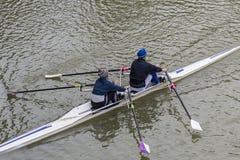 2 люд в каное Стоковые Изображения RF