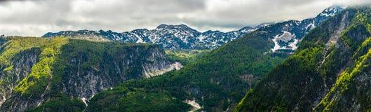 Юлианские Альпы Стоковое Фото