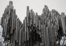Юлий Sibelius Финляндия Стоковые Изображения