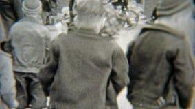 1938: Юлить депо Paperboy разбивочный при дети делая дополнительный самца оленя ELYRIA, ОГАЙО акции видеоматериалы
