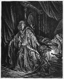 Юдифь и Holofernes Стоковое фото RF