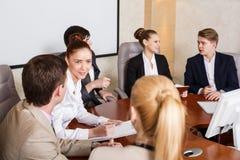 люди бизнес-группы Стоковое фото RF