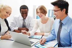 люди бизнес-группы Стоковое Изображение