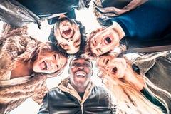 люди группы многокультурные Стоковое Фото