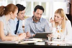 люди деловой встречи Стоковое Фото