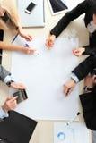 люди деловой встречи Стоковые Фотографии RF