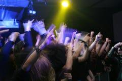люди на партии/концерте стоковые фотографии rf