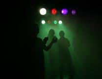 люди на партии/концерте Стоковые Фото