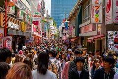 люди на Harajuku, токио Стоковое Изображение RF