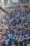 люди толпы Стоковое Фото