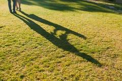 люди silhouettes 2 Стоковая Фотография RF