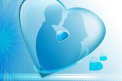 людская влюбленность Стоковые Изображения