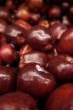 Яблоки для сбывания Стоковые Фотографии RF