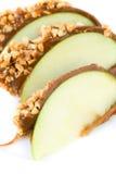 Яблоки конфеты карамельки Стоковая Фотография
