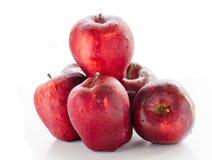 яблоки красные стоковая фотография