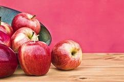 яблоки красные Стоковое Изображение