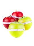 яблоки органические Стоковые Фотографии RF