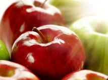 яблоки светя солнечному свету Стоковая Фотография