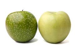 яблоки сочные 2 Стоковые Изображения