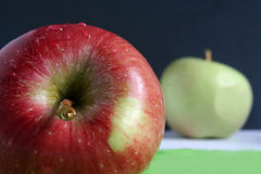 Яблоки Стоковые Фотографии RF