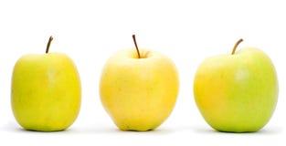 яблоки 3 стоковые изображения rf