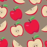 яблоко безшовное бесплатная иллюстрация
