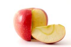 яблоко его ломтик Стоковое фото RF
