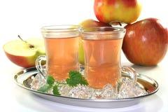 яблоко заморозило чай Стоковое фото RF