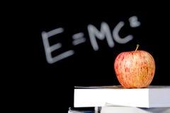 яблоко записывает стог класса Стоковое фото RF