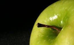 яблоко - зеленая верхняя часть стоковые изображения rf