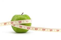 яблоко - зеленая лента стоковые изображения