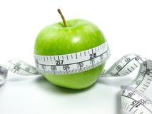яблоко - зеленая лента Стоковая Фотография RF
