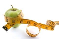 яблоко - зеленая лента Стоковое фото RF
