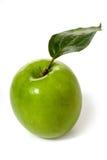 яблоко - зеленые листья стоковые фотографии rf
