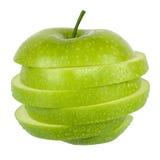 яблоко - зеленый цвет Стоковое Изображение RF