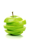 яблоко - зеленый цвет Стоковые Фотографии RF