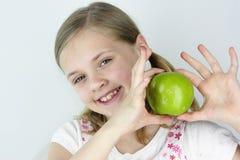 яблоко - зеленый цвет Стоковое Изображение