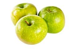 яблоко - зеленый цвет 3 Стоковые Изображения