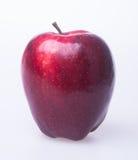 Яблоко или красное яблоко на предпосылке Стоковые Фото