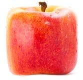 Яблоко красного квадрата Стоковое Фото