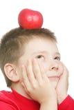 яблоко мечтает красный цвет Стоковое Изображение RF