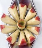 яблоко отрезало Стоковые Фотографии RF