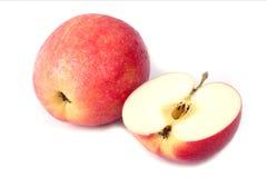 яблоко падает красная вода Стоковые Изображения RF