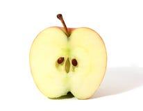 яблоко половинное Стоковая Фотография
